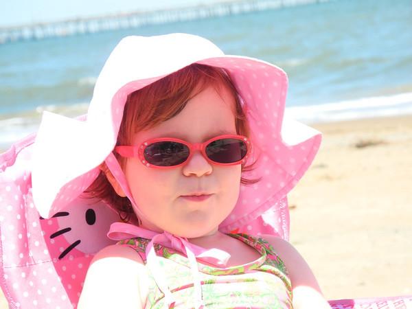 Caroline and Walker Bay Beach 5-26-13