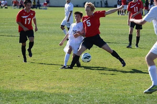 Prep Boys Varsity Soccer 2013-14