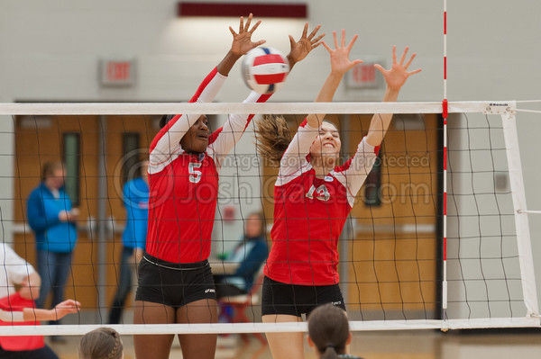 10/23/13 Volleyball vs. Huntington