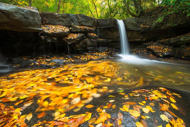 Chaotic Swirls Ohiopyle Jonathan Run Autumn Waterfall.jpg