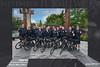 Downtown Foot patrol bike unit 8x12