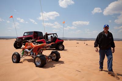 Sand Car Shoot - Day 1