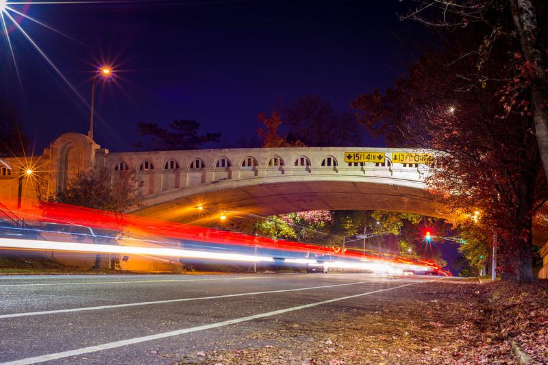 Bellerive Park Bridge over Broadway