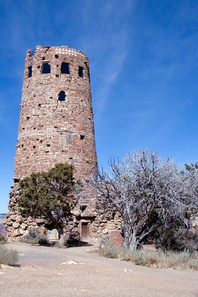 Watchtower at Grand Canyon National Park in Arizona, USA