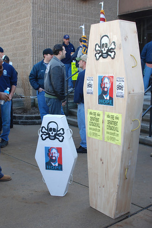 Philadelphia Fire Department Rally