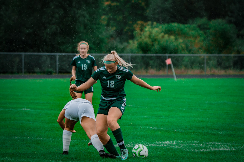 Holy Family Girls Varsity Soccer vs. Shakopee, 9/21/19: Caitlin Rock '20 (12)