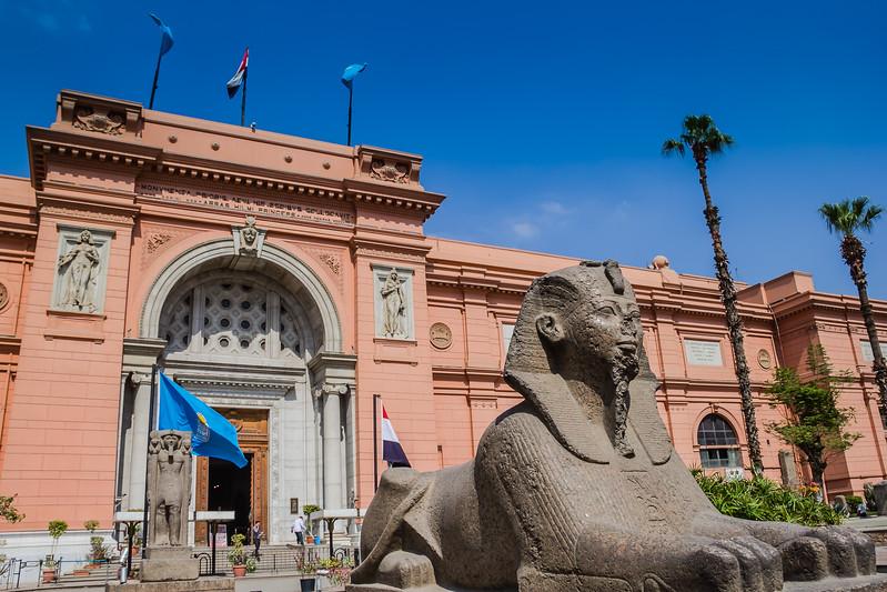 Egyptian Museum in Cairo, Egypt