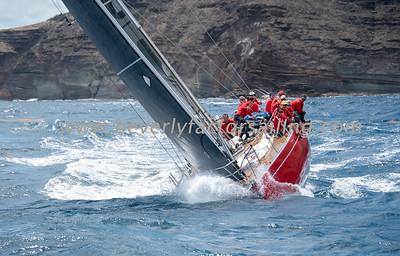 SCARLET OYSTER - Under Sail