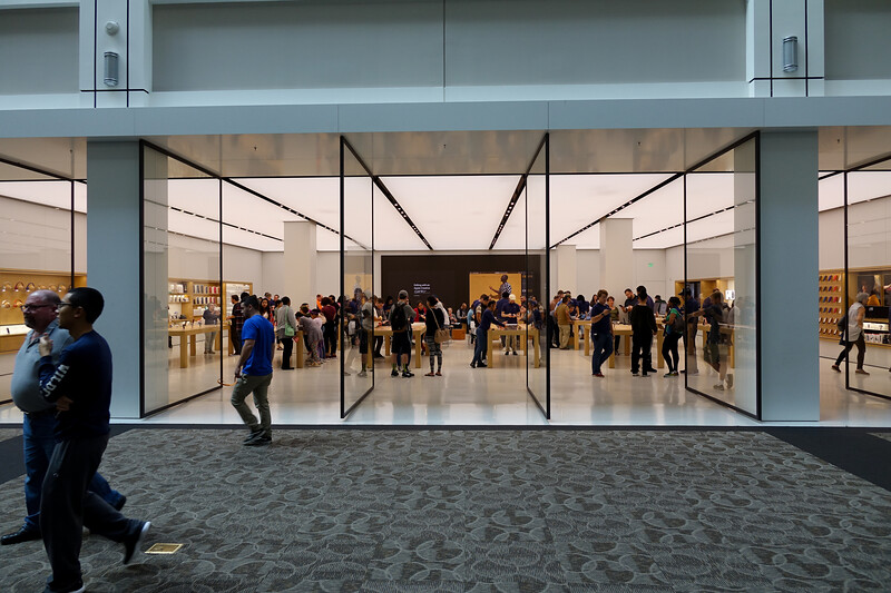 Providence Apple Store so cool--doesn't even have a sign