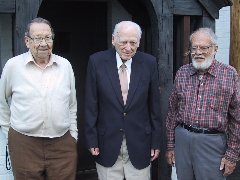 George Hart, W1NJM; By Goodman, W1DX; John Huntoon, W1RW.