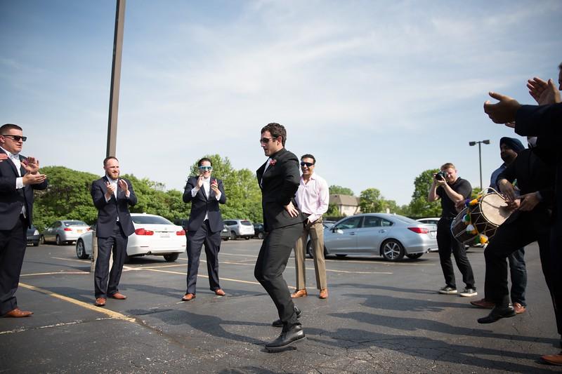LeCapeWeddings Chicago Photographer - Renu and Ryan - Hilton Oakbrook Hills Indian Wedding -  439.jpg