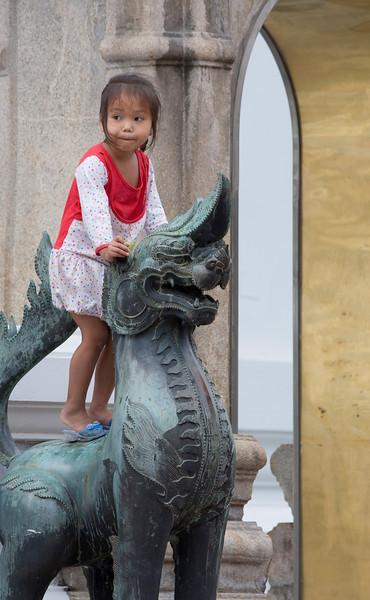 In Wat Pho
