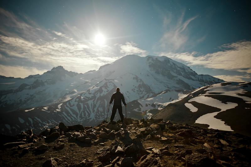Mount Ranier Selfie