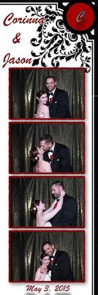 Corinna and Jason Photo Booth Pics