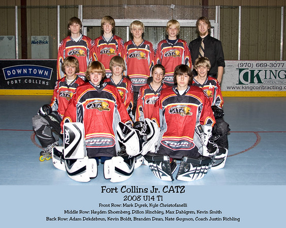 Jr. Catz 2008 Team Pictures