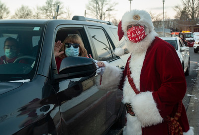Employee Holiday Drive Thru Event