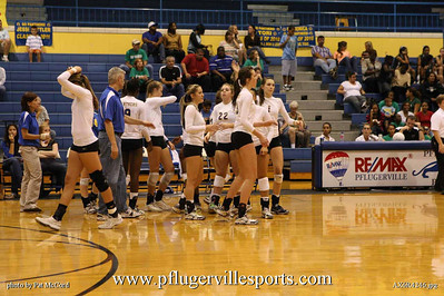 Panthers vs Connally Cougars, Volleyball 2009
