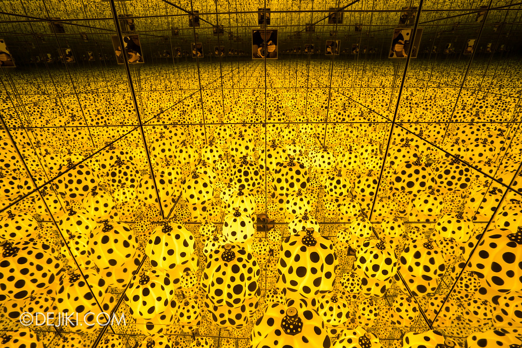 National Gallery Singapore - Yayoi Kusama: Life Is The Heart of A Rainbow / The Spirits of Pumpkins Descended into the Heavens, interior