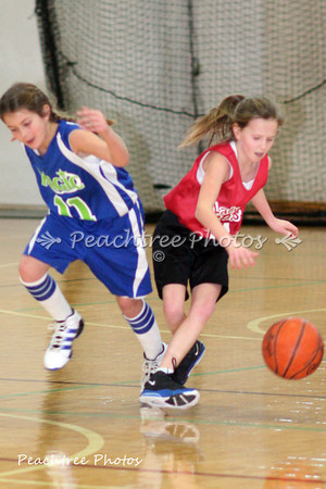 Lady Rebels vs. Magic 1-14-12