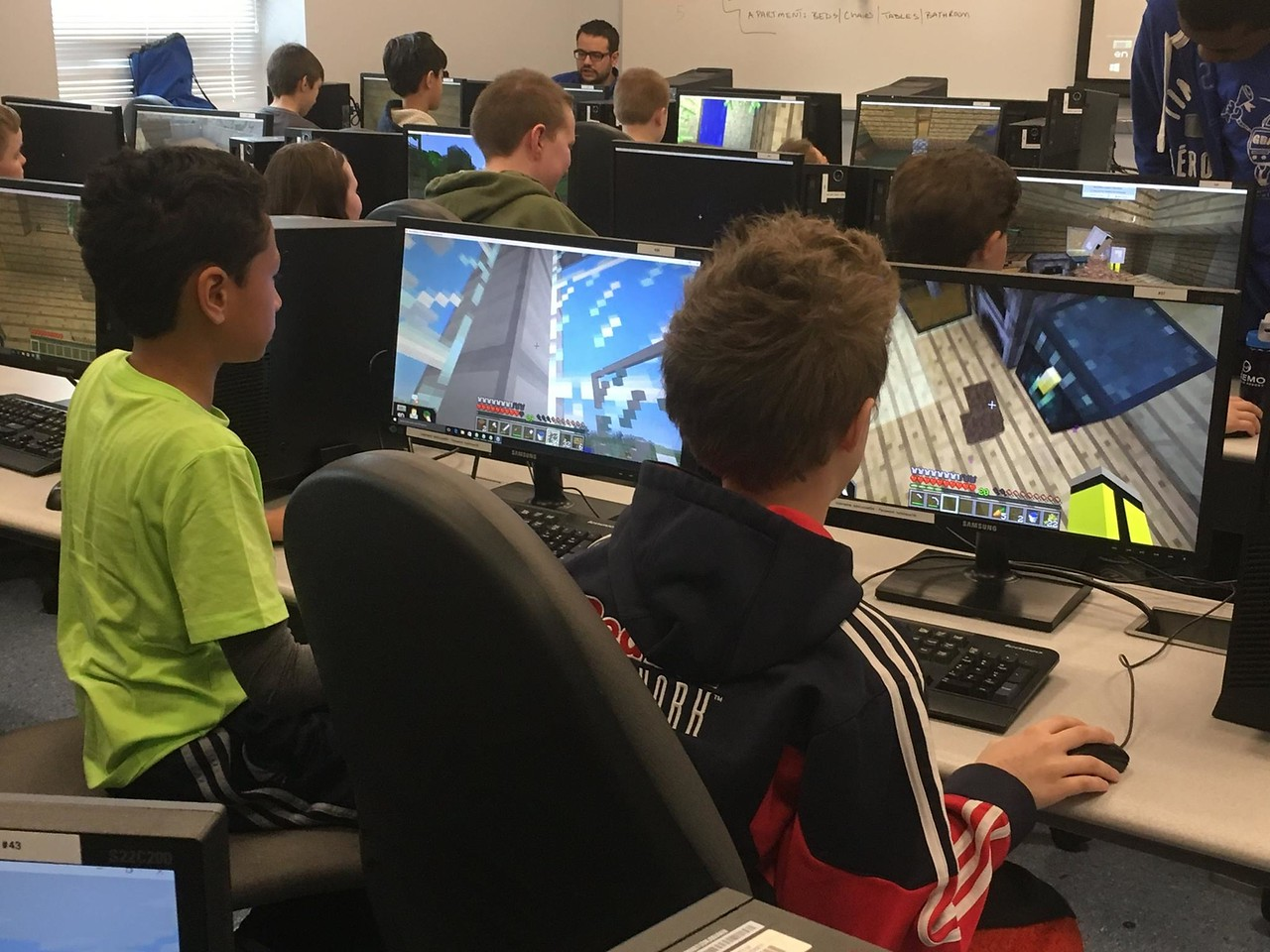 minecraft summer camp