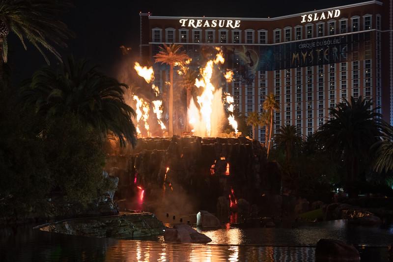 Volcano at Mirage Resort and Casino