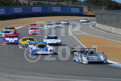 Group 6B 2014 Rolex Monterey Motorsport Reunion Race