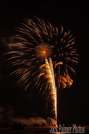 July 4TH 2018     Fireworks Only (Myers Park)