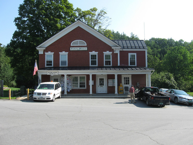 Grafton VT Town Hall and Post Office.