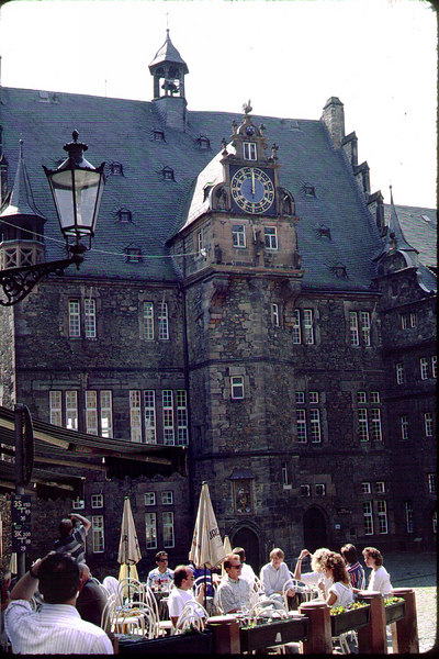 The Rathaus (City Hall) in Marburg