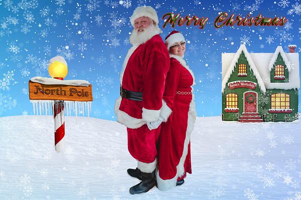 Santa December 8th