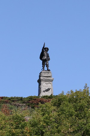 Samuel de Champlain Statue, Ottawa - 16 September 2019