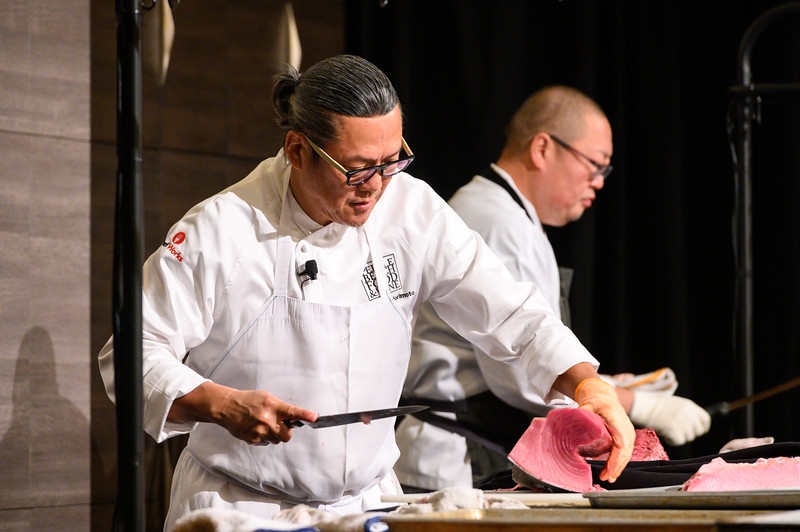 Gone Fishing with  Chef Morimoto