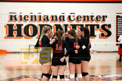 Dodgeville @ Richland Center VB19