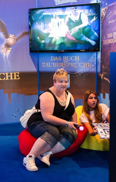 Wonderbook @ Gamescom 2012