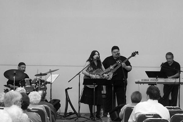 20101006 A Little Day Music with Sam Dinkin III Quartet