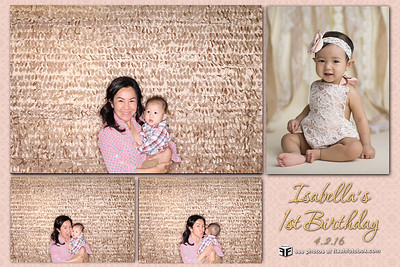 Isabella's 1st Birthday - April 2, 2016