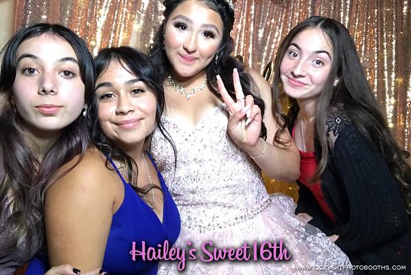 Hailey's Sweet 16 06/12/21