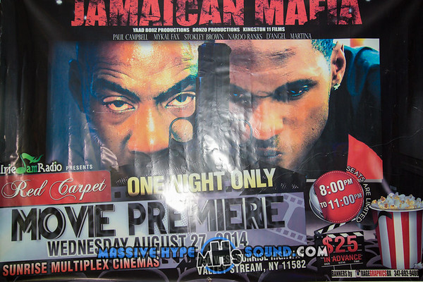 Jamaican Mafia Movie Premiere (8.28.14)