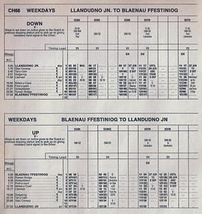 Blaenau Ffestiniog Branch WTT 1977