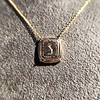 'Joys I Double, Sorrows I Divide' 18kt Rose Gold Cast Pendant, by Seal & Scribe 14