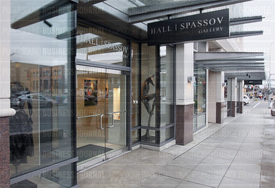 Erik Hall and Amy Spassov are the brilliant artists that own and run Hall-Spassov Gallery in Seattle and Bellevue