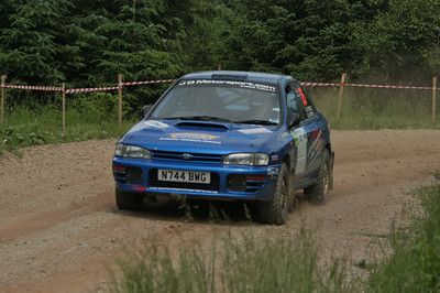 S. M. C. Members at the Greystoke Stages Rally (8th of July 2012)