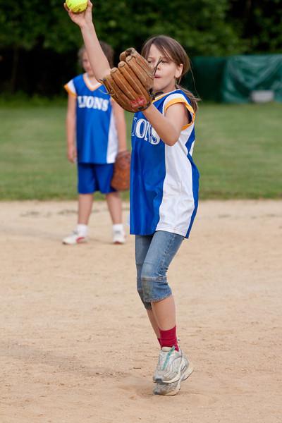 Lions Club Softball - 6/4/09