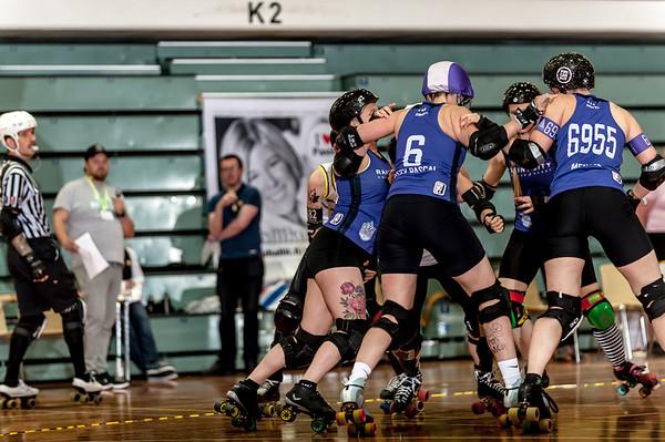 KFI 5 - Rainy City Roller Derby vs. Sun State Roller Girls