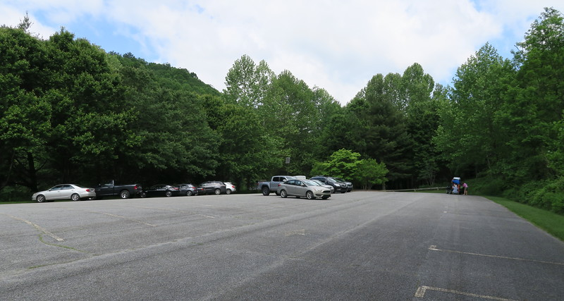 US-221 Access Lower Parking Area