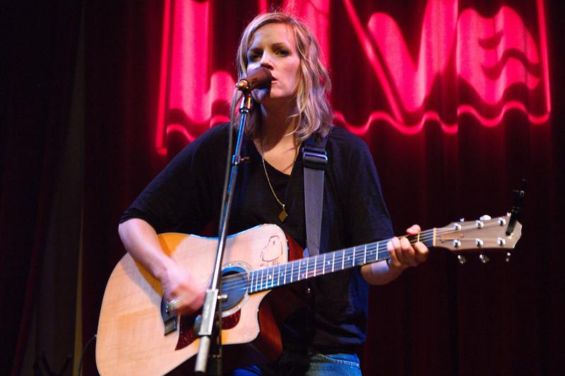 Katie Herzig at World Cafe Live