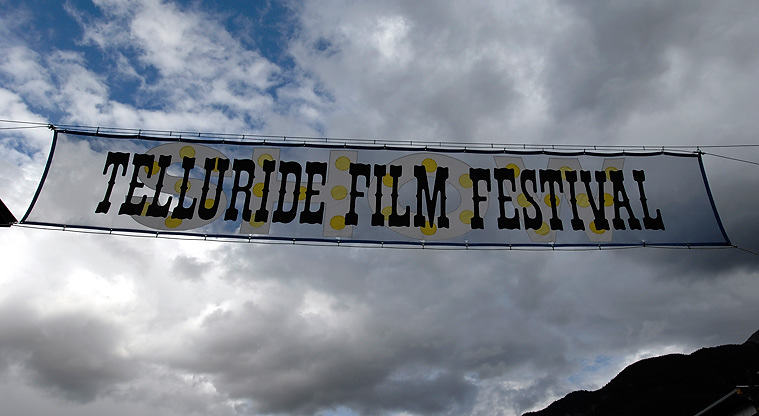. A high-altitude gathering: The Telluride Film Festival, through Sept 2. Photo Arun Nevader, Provided by Telluride Film Festival