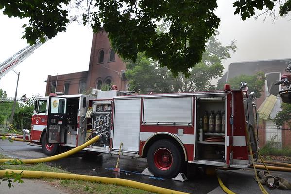2nd Alarm 140 Wilbraham Ave. Springfield, MA 6/27/16
