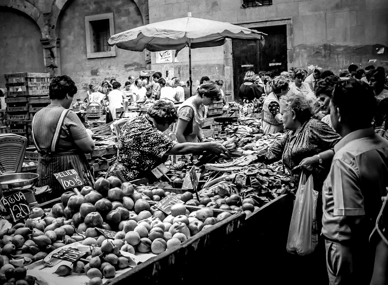 Produce Market in Marseille, France