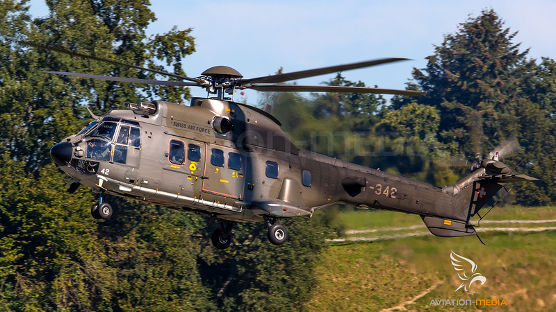 Swiss Air Force Eurocopter AS. 532UL Cougar T-342